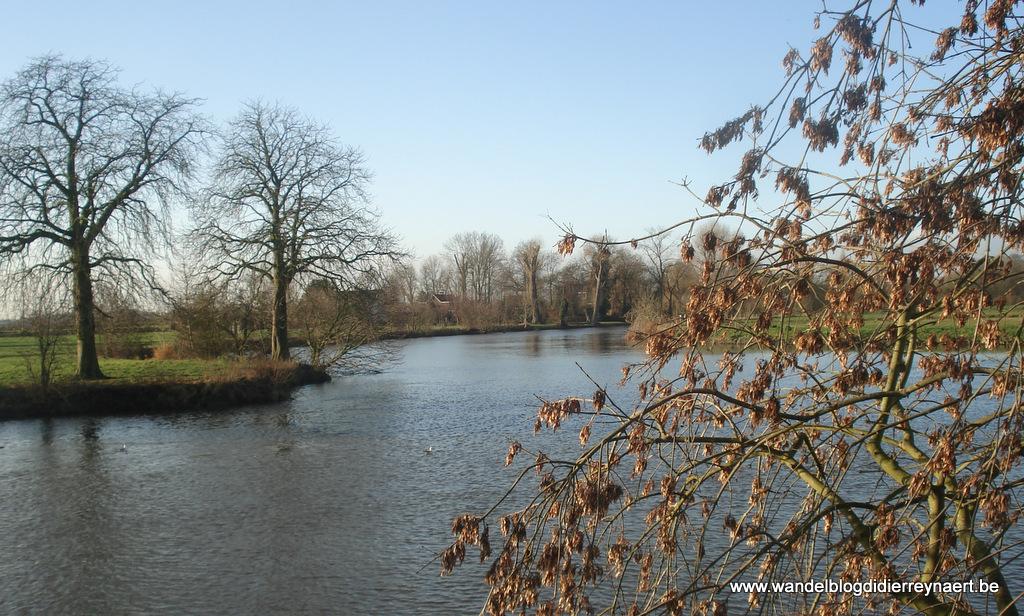 24 december 2011: Sint-Martens-Latem – Destelbergen (GR128) (25 km)