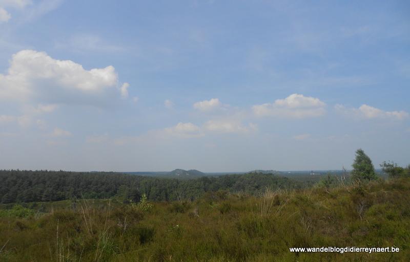 6 juli 2013 : Wandeling Hoge Kempen dag 1 (53km)