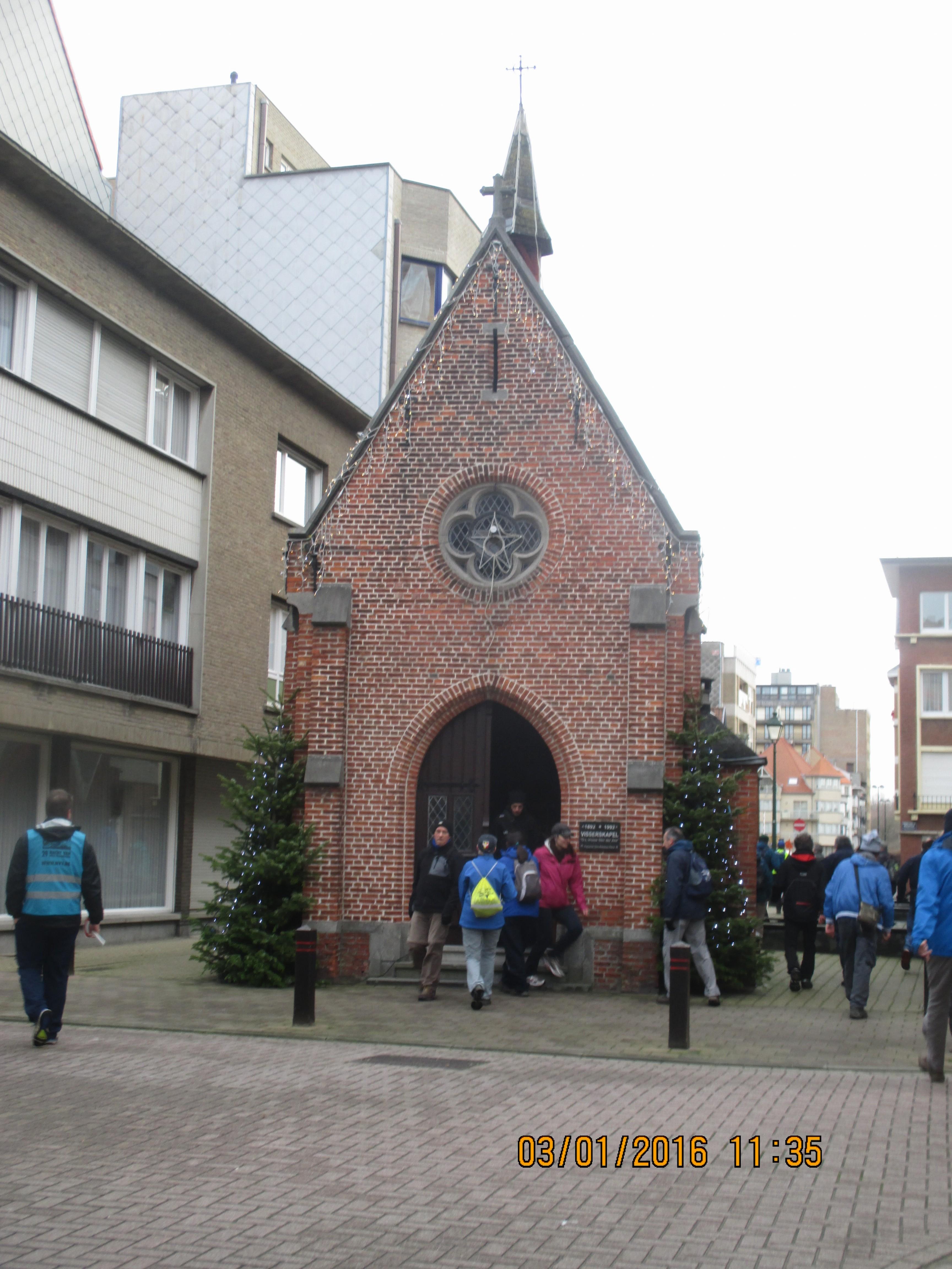 3 januari 2016 : Heist-aan-Zee (Euraudax) (25 km)