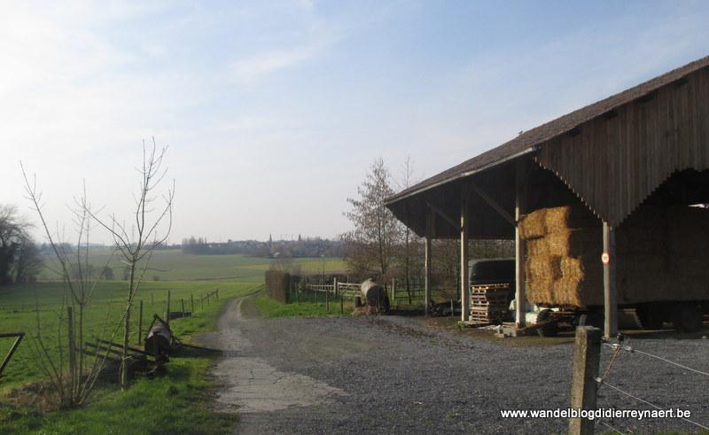 27 februari 2016 : Ronse – Rollegem (GR5A Zuid) (38 km)