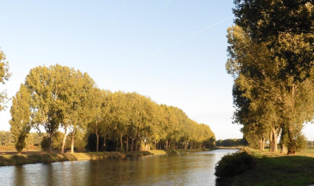 de Schelde tussen Tournai en Obigies
