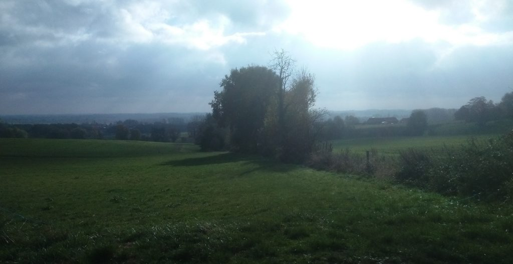 "panorama over ""le Pays d'Ath"""