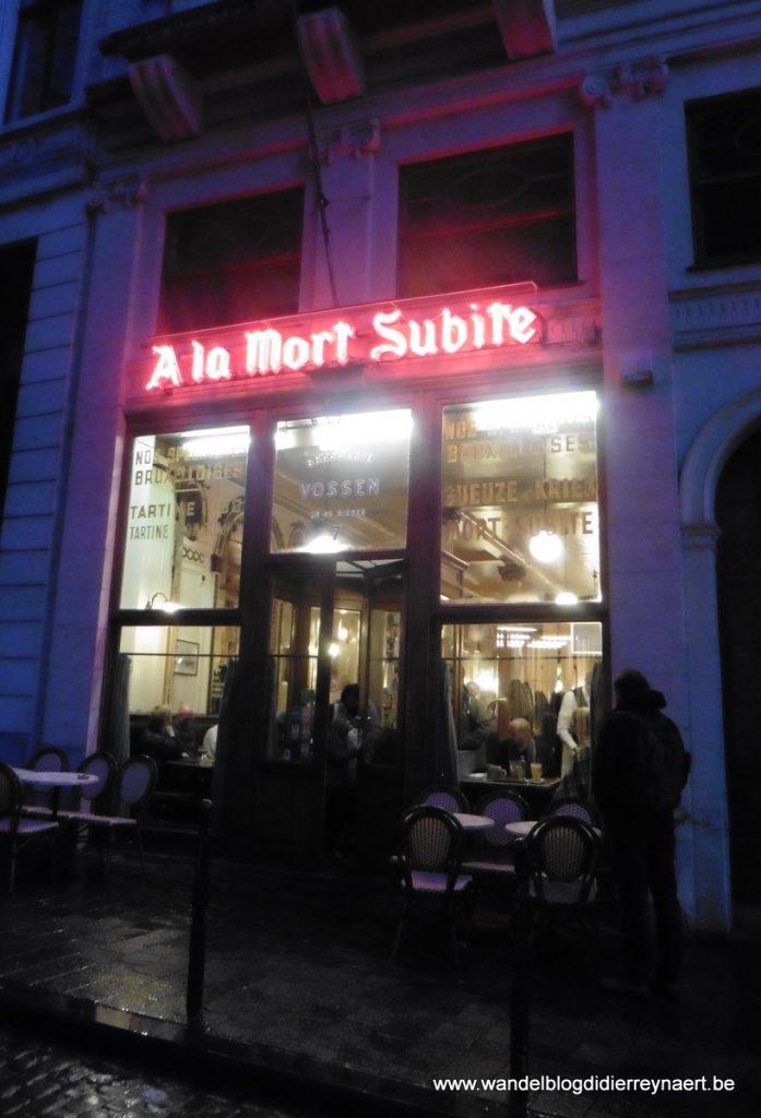 """het Brusselse café """"A la Mort Subite"""""""