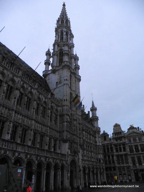 Grote Markt van Brussel -Stadhuis