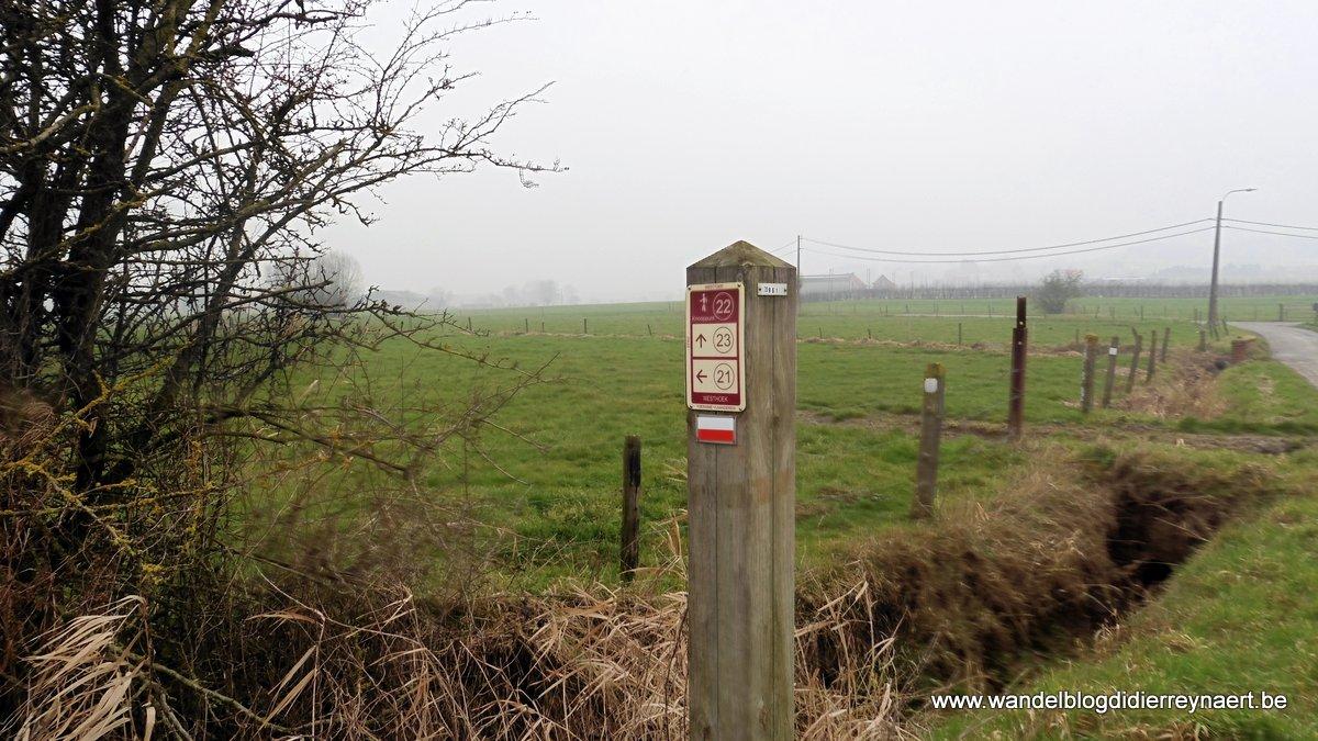 11 februari 2017: Nieuwkerke (21 km)