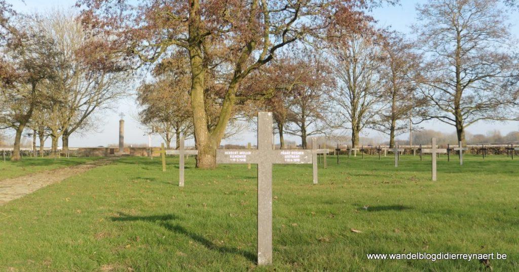 Duitse militaire begraafplaats in Steenwerck