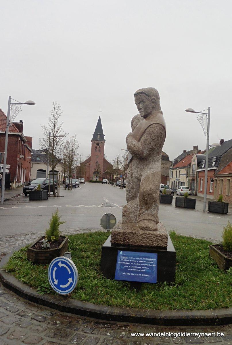 Le Satcheu of boottrekker (Leers-Nord)