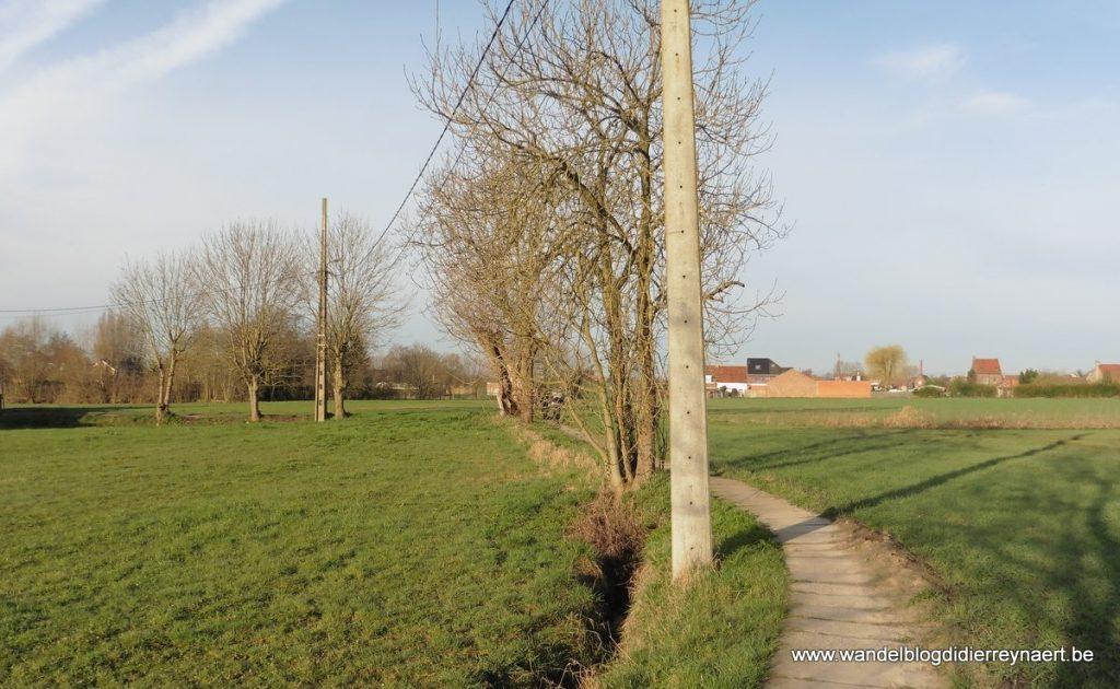 stapwegel tussen Rollegem en Aalbeke