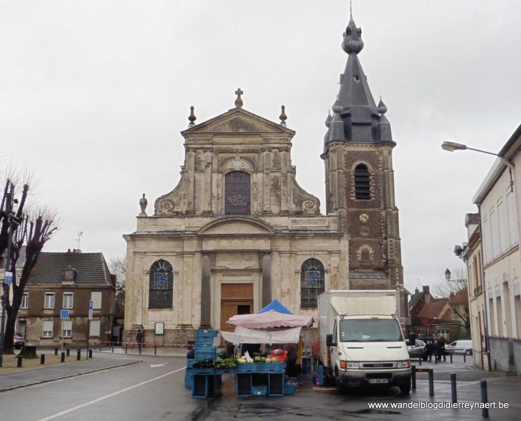Eglise Saint-Wasnon Conde-sur-L'Escaut