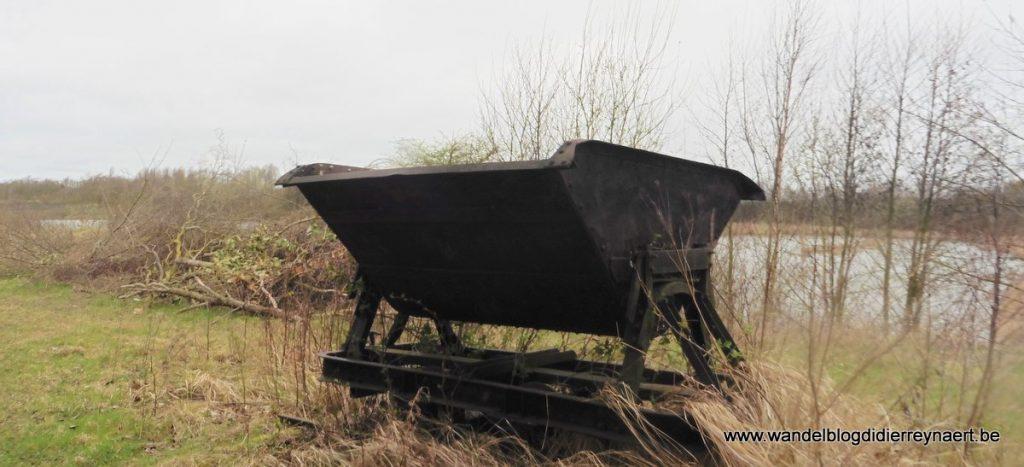 karretje voor transport van klei
