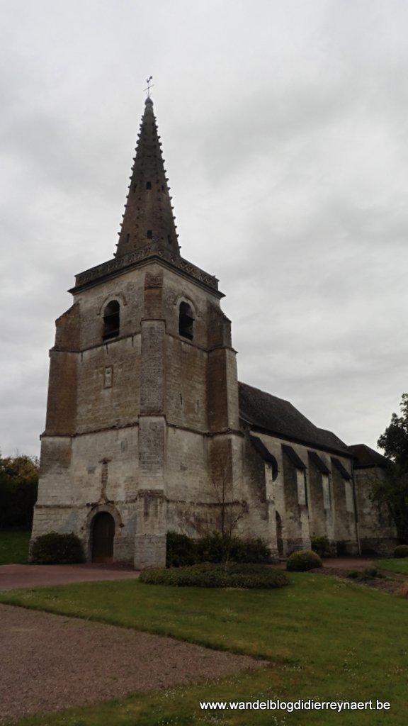 Het kerkje van Boubers-sur-Canche