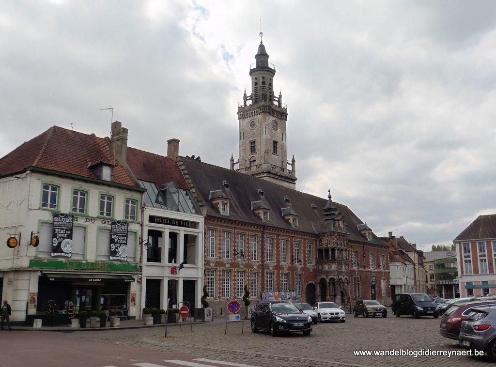 Stadhuis en Belfort van Hesdin