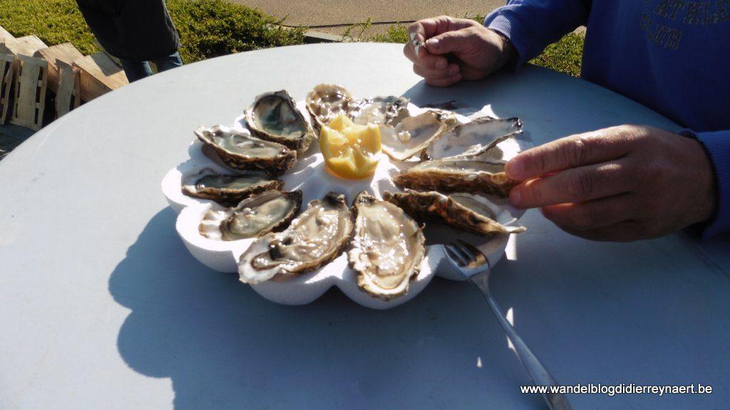oesters van Marennes Oléron