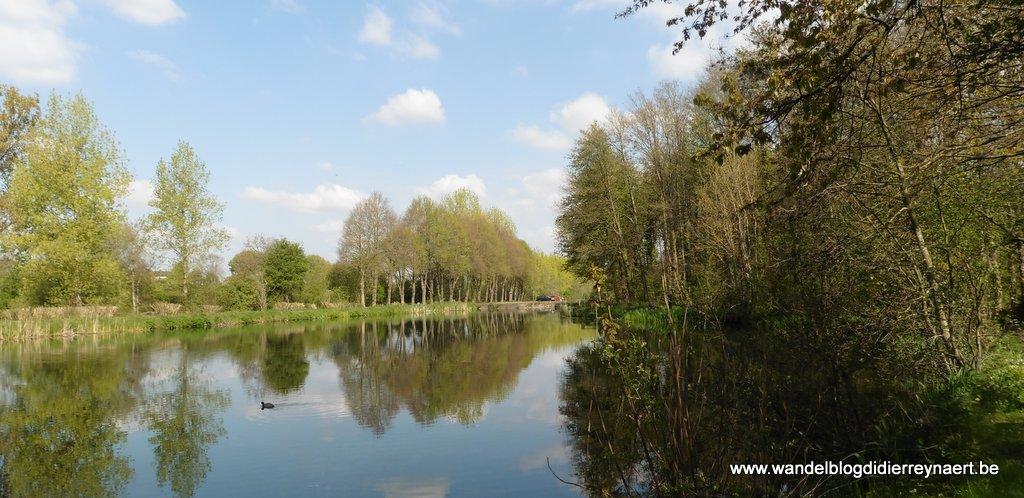 het oude kanaal Brussel-Charleroi