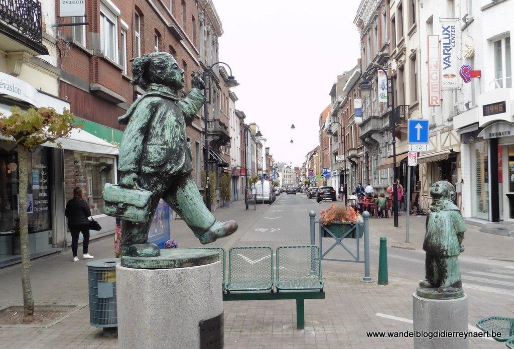 in de straten van Braine-Le-Compte