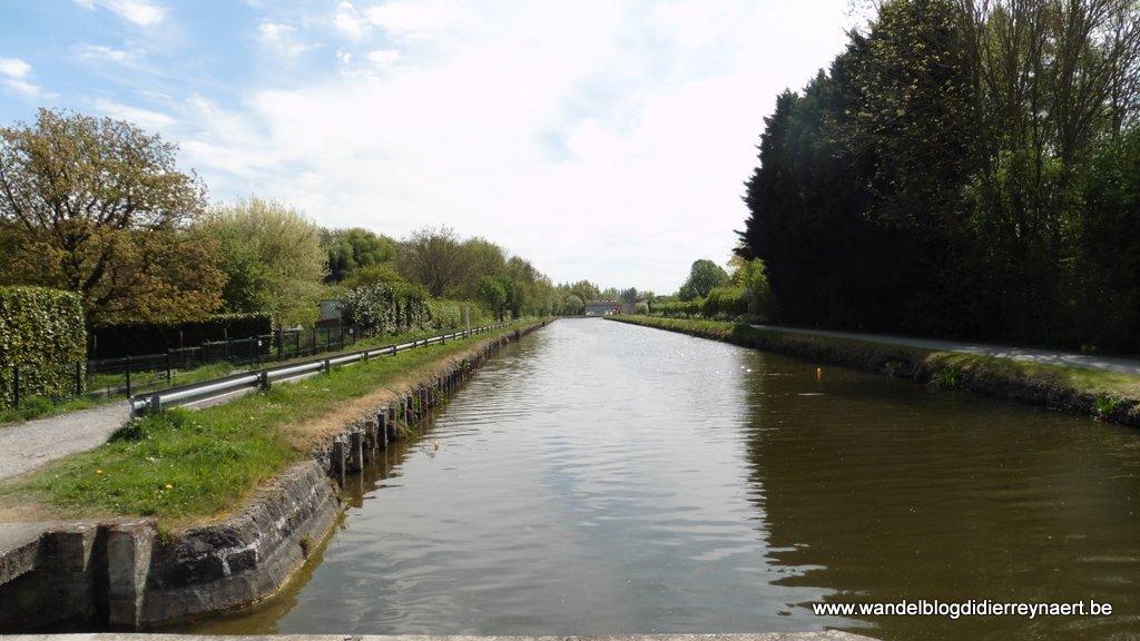 Het kanaal Ath-Blaton in Maffle