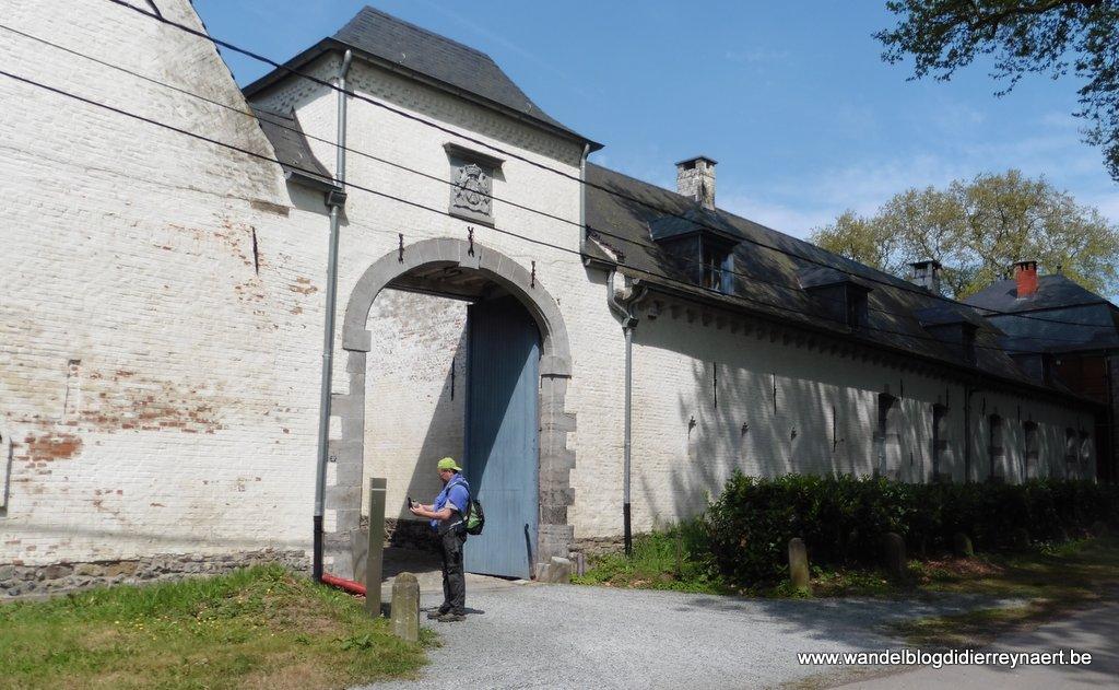hoeve bij het Chateau de Thoricourt