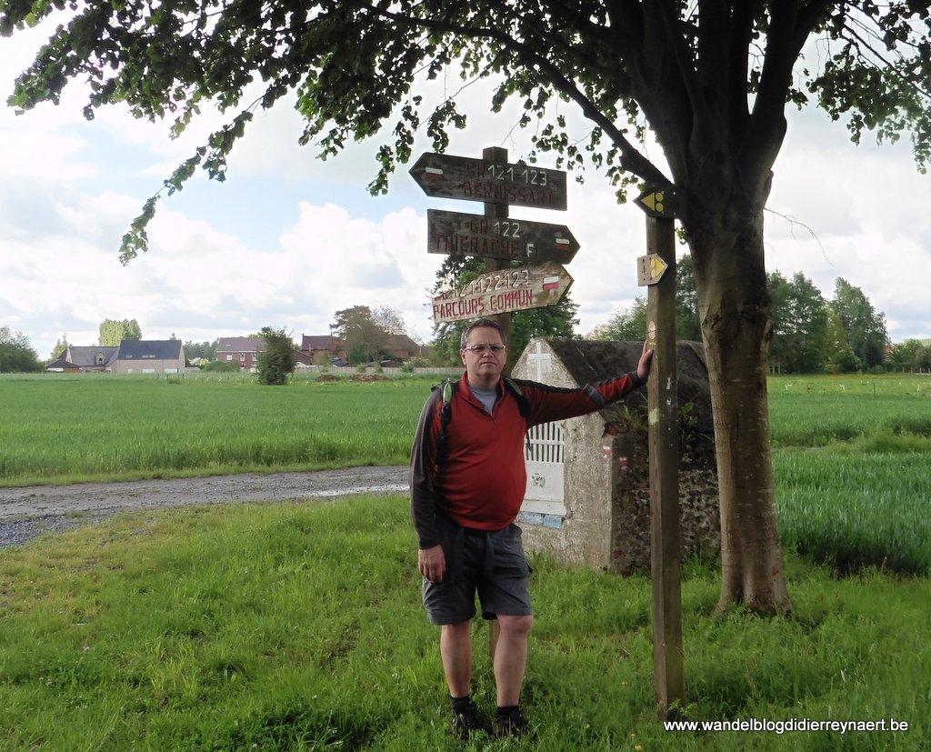 GR-wandelboom in Bernissart