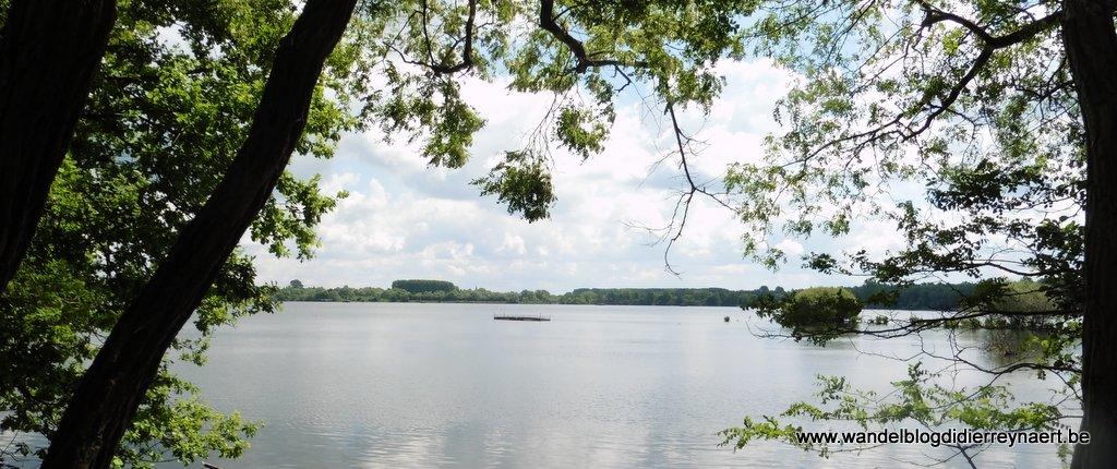 Lac d'Amaury in Hergnies