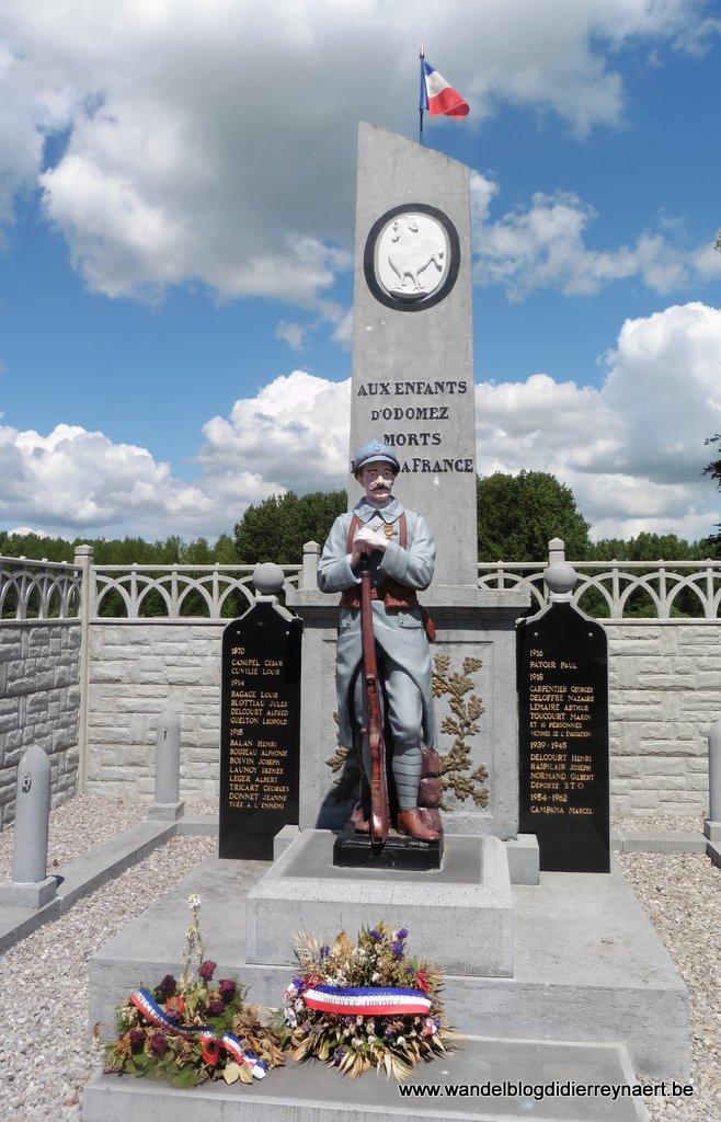 Monument in Odomez