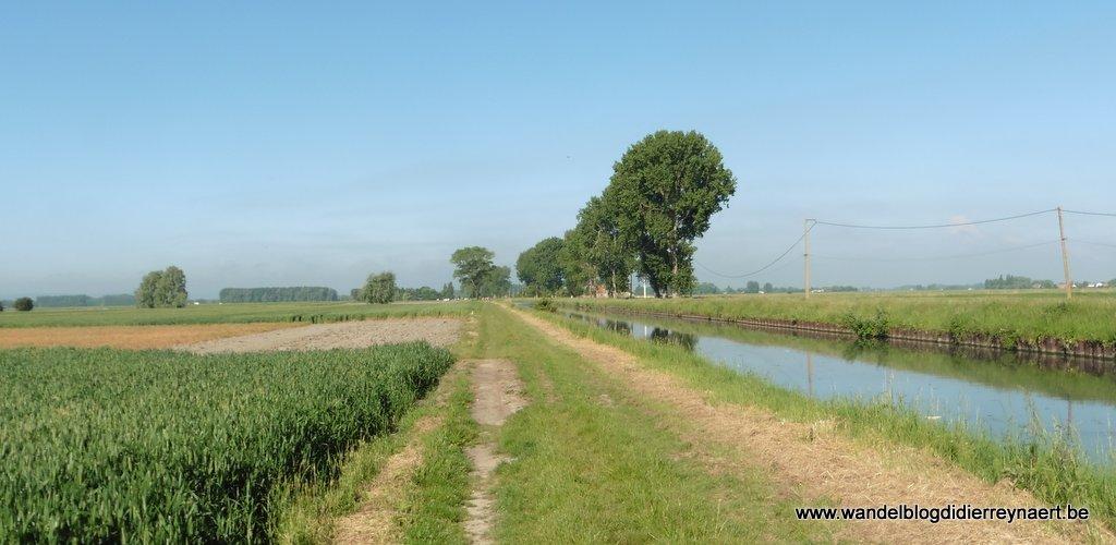 Langs het Canal de Calais
