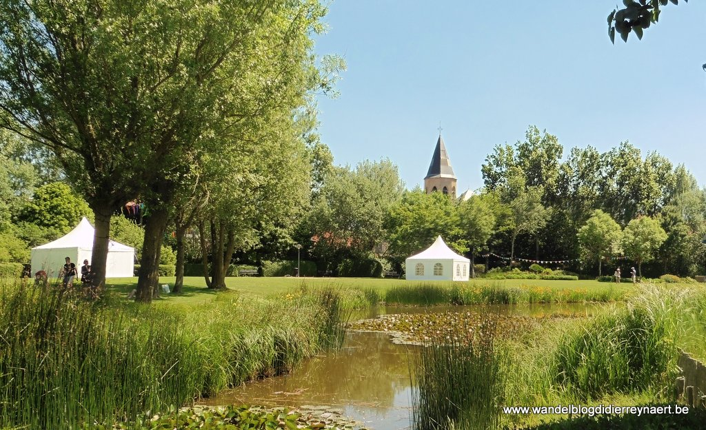 Het Normandpark in Middelkerke