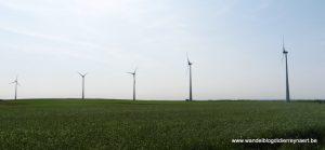 windmolens nabij Saint-Maur