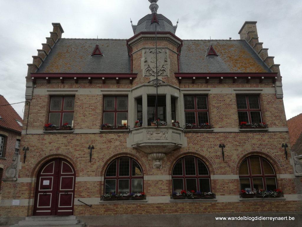 de Mairie van Bollezeele