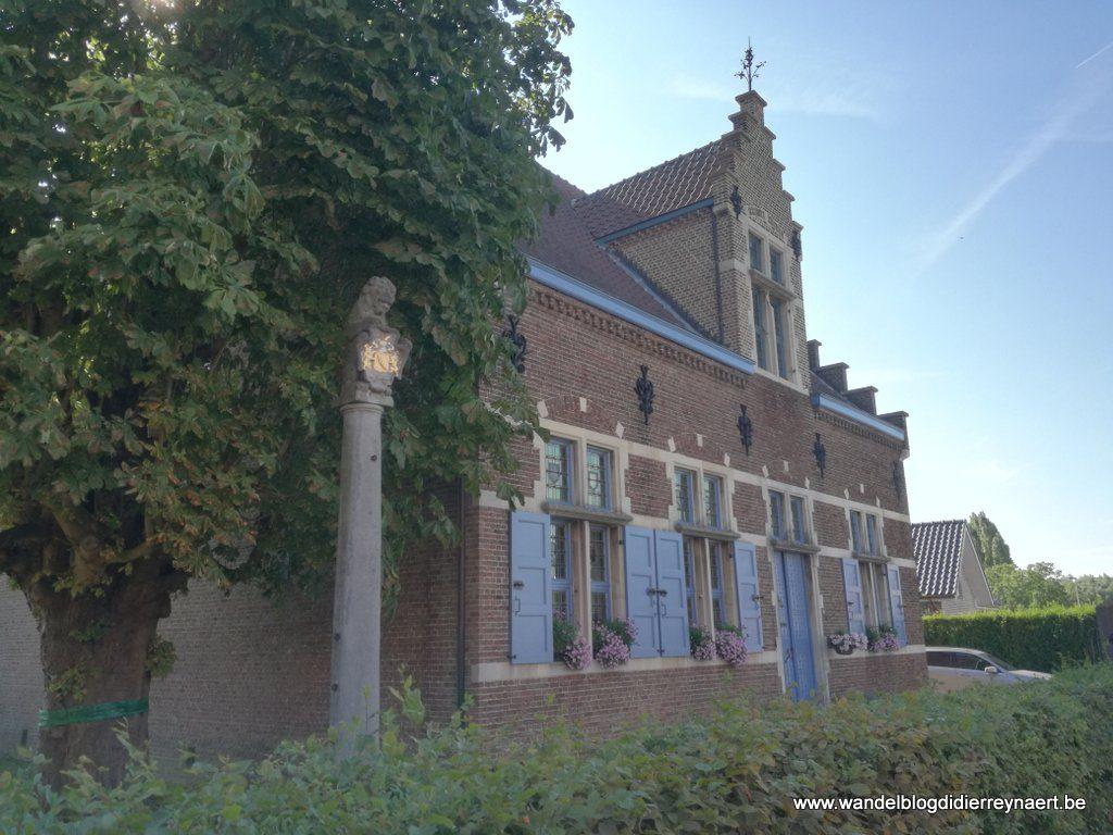 Schandpaal in Sombeke