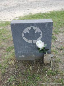 wegmarkering Canadese bevrijdingsroute