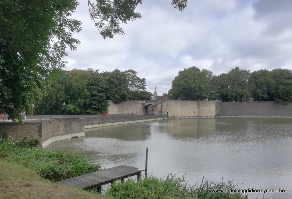 Rijselpoort in Ieper