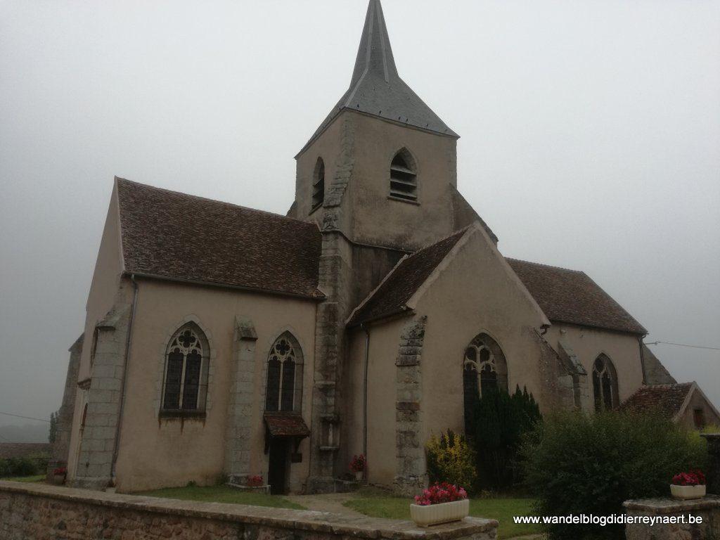 Kerkje van Saint-Léger-Vauban
