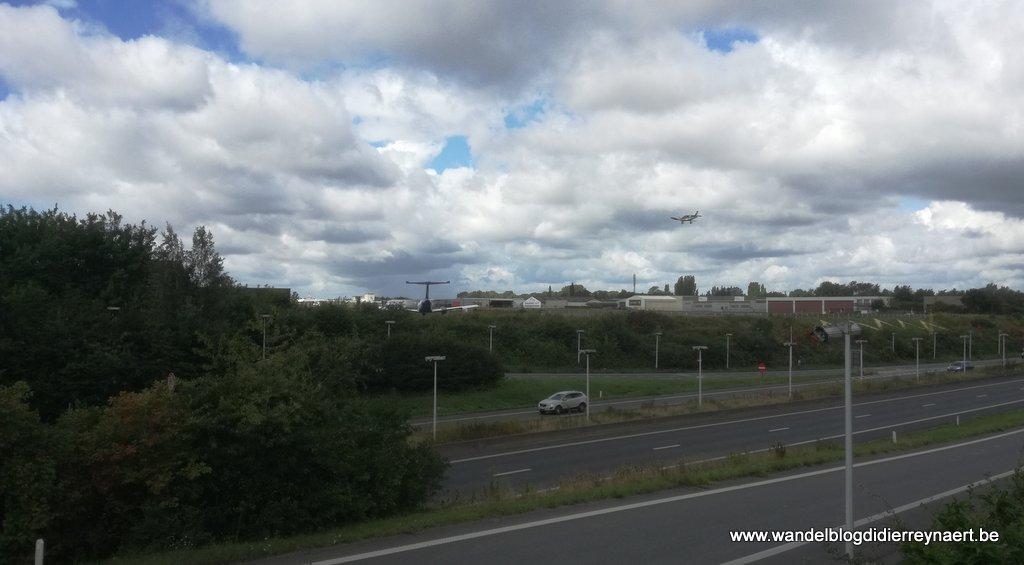 de Ring en het vliegveld Kortrijk-Wevelgem