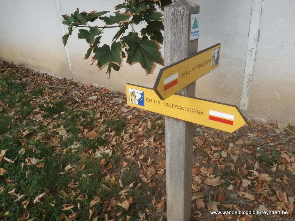 GR145 of Via Francigena
