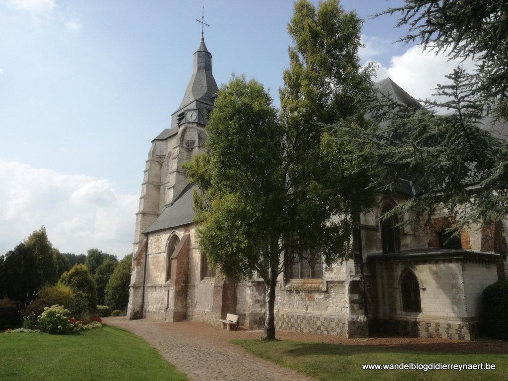 kerk Saint-Nicolas van Avesnes-le-Comte