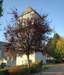 houten klokkentoren Eecke