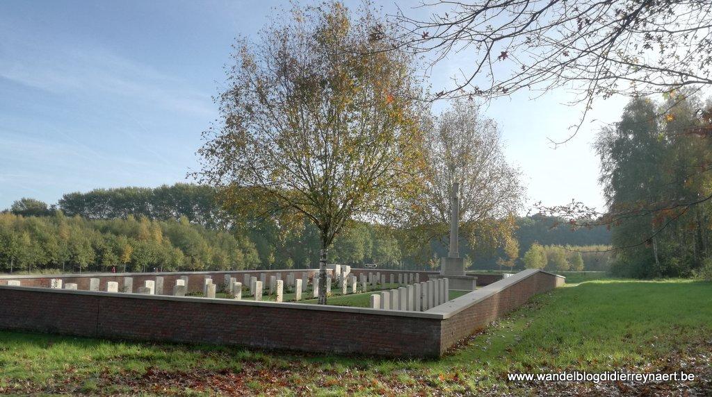 militaire begraafplaats The Bluff