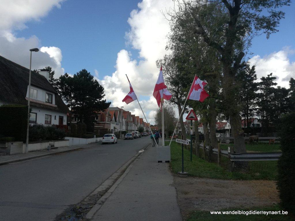 de wijk Oosthoek in Knokke