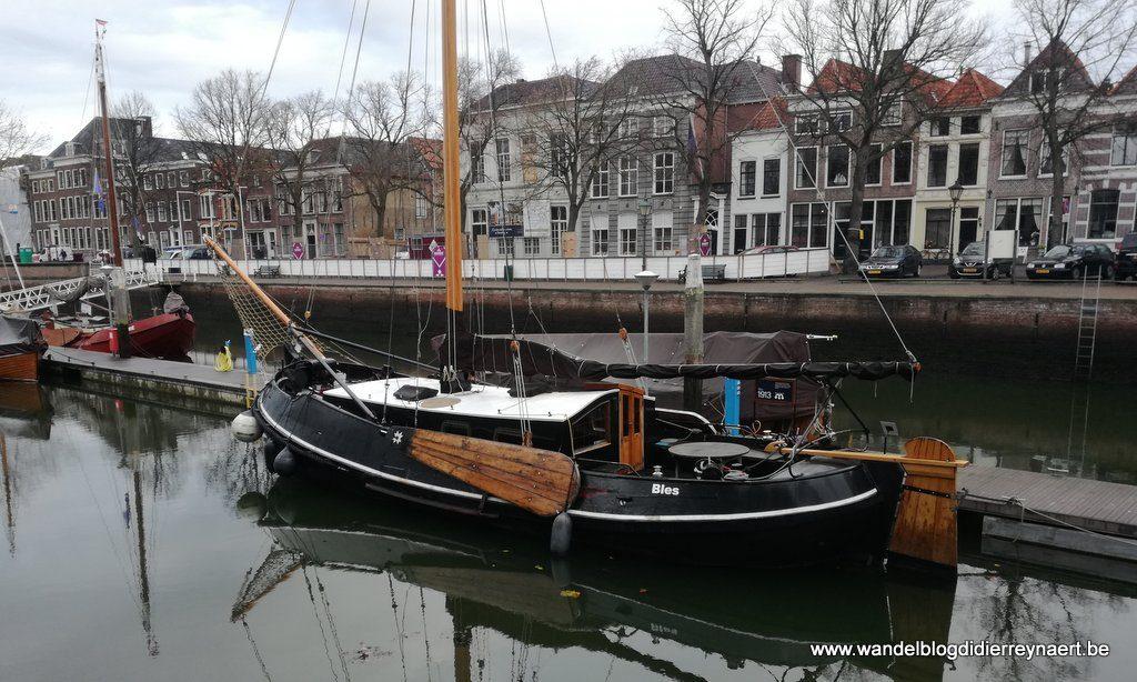 historisch schip in Museumhaven Zierikzee