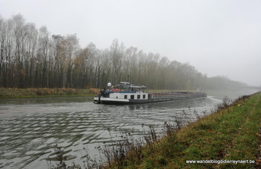 Het kanaal Péronnes-Blaton