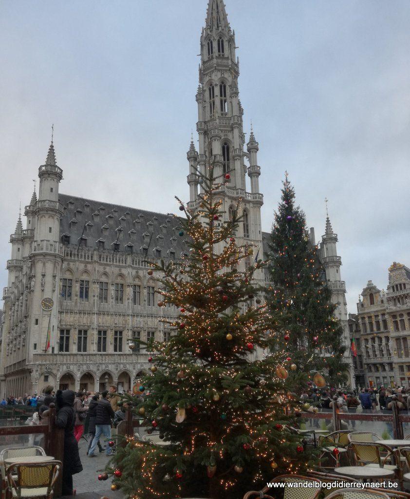 Kerst op de Grote Markt van Brussel
