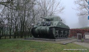 """Sherman tank """"Clanky"""" in Balgerhoeke"""