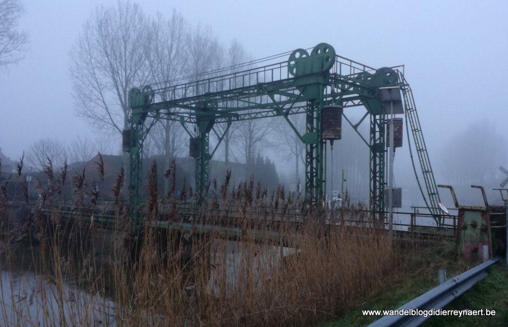Spoorwegbrug in Balgerhoeke