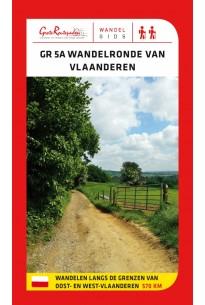 GR5A Wandelronde van Vlaanderen: vernieuwde versie en topogids