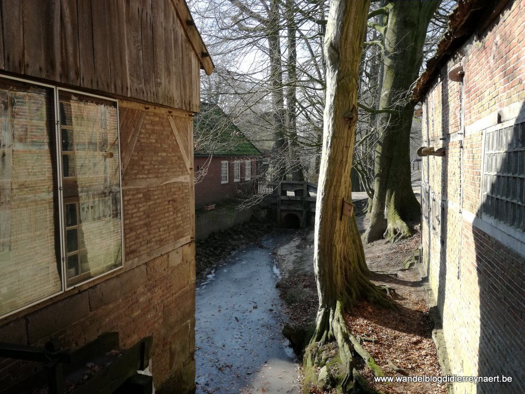 Watermolen Bels in Mander