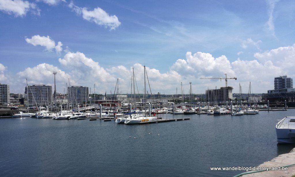 de jachthaven van Boulogne-sur-Mer