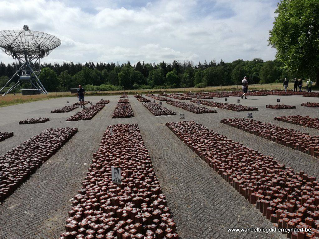 Kamp Westerbork: 102.000 stenen