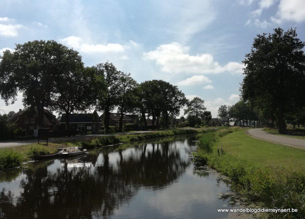 Oranjekanaal in Hijken