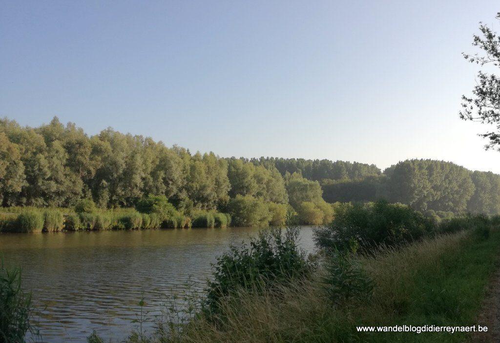 de Schelde tussen Schelderode en Melsen