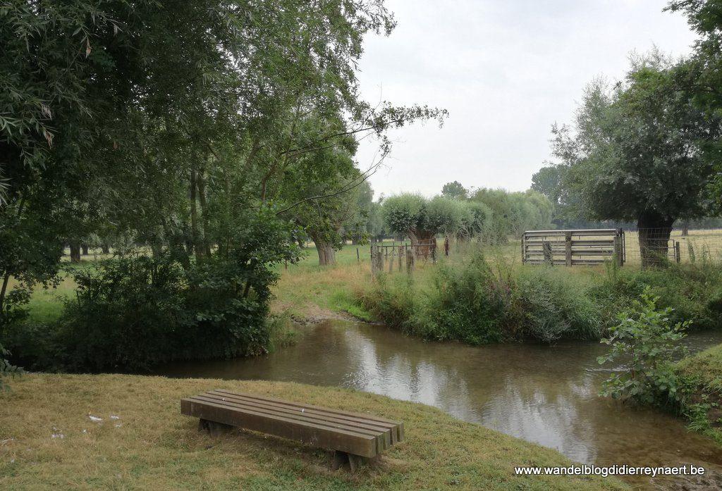 het riviertje de Ecaillon